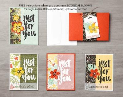 Botanical Blooms Card Collections