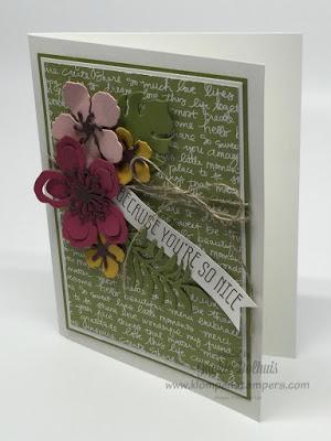 Botanical Blooms Card Series–Card #3