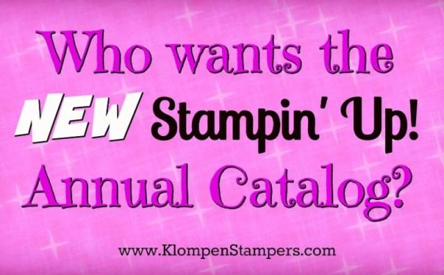 Stampin' Up! Reminders