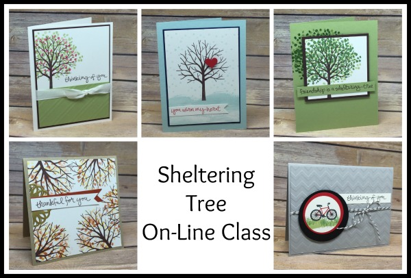 Don't Miss These Fun On-Line Stamping Classes!!!!!