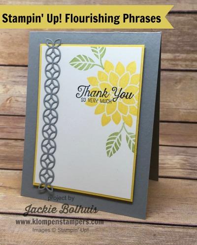 Flourishing Phrases Card Series #1