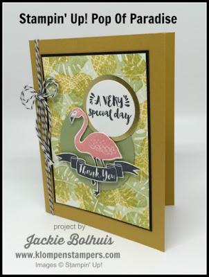 Pop Of Paradise Card Series #2