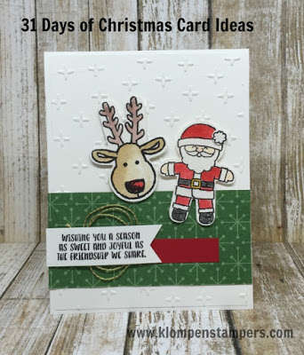 31 Days of Christmas Cards – Day #22