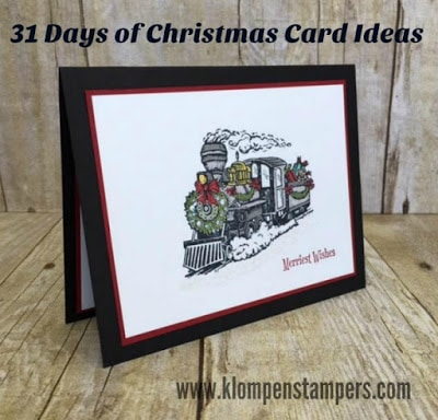 31 Days of Christmas Cards – Day #6