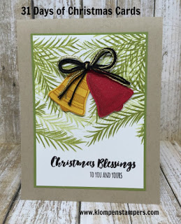 31 Days of Christmas Cards – Day #30