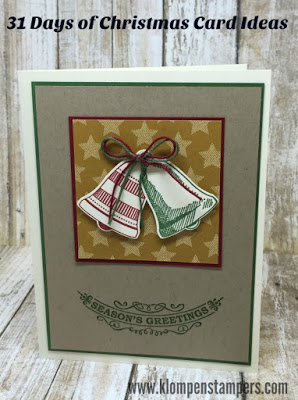 31 Days of Christmas Cards – Day #3