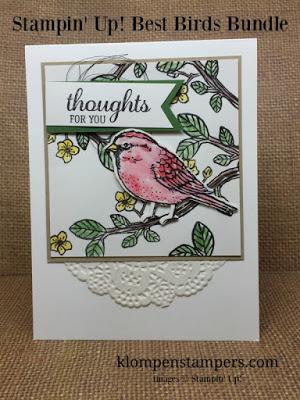 Best Birds Card Series:  Card #2