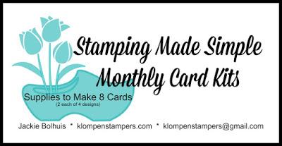 November Card Kits