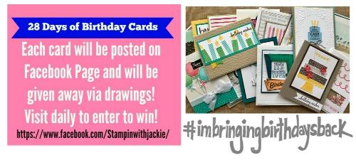 28 Days of Birthday Cards–Card #2