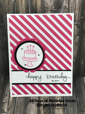 28 Days of Birthday Cards — Day #26