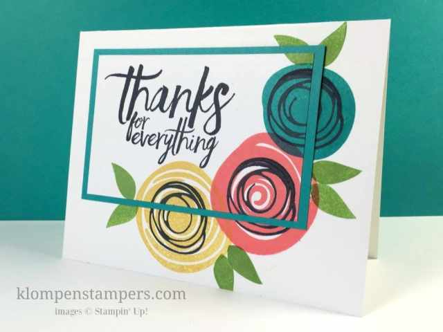 Techniques & Tips:  Triple Stamping