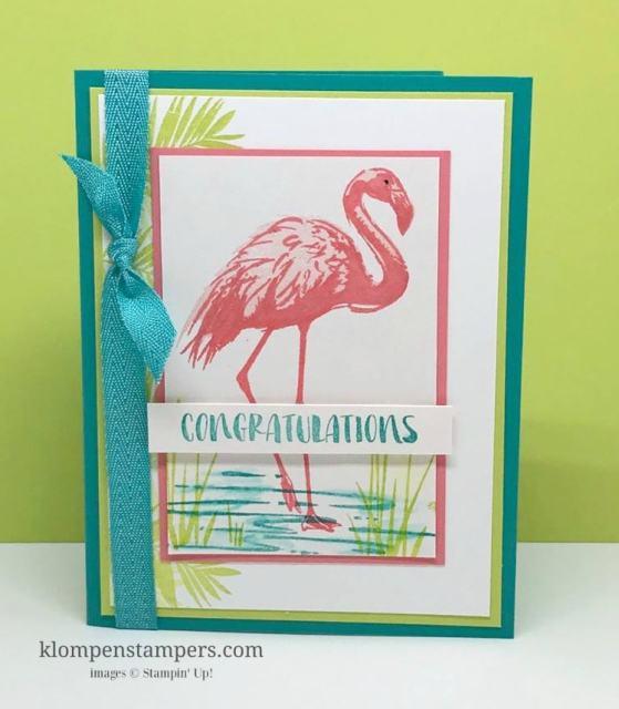 Sneak Peak:  Fabulous Flamingo
