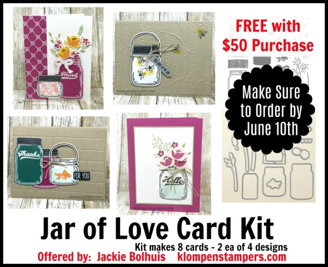 Last Day for June Card Kits