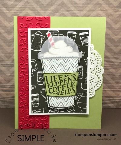 Coffee Cafe Card #4