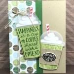 Coffee Cafe Bundle Card