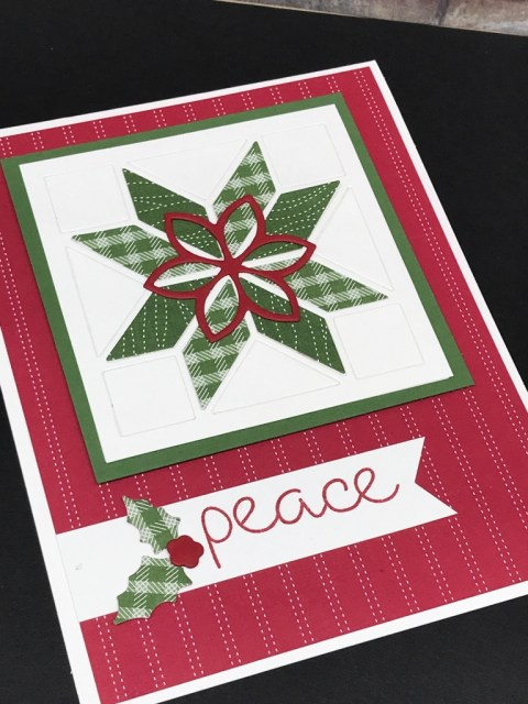 Christmas Cards With Christmas Quilt Klompen Stampers