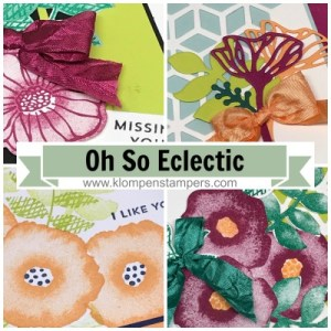 Oh So Eclectic Online Stamping Class, Tutorial and Video. For sale or receive free with a purchase.