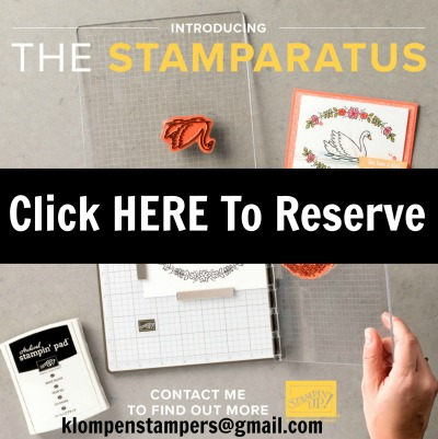 Reserve Your Stamparatus NOW