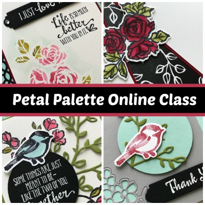 Petal Palette Online Stamping Class