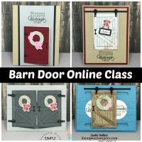 Last Chance to Get Barn Door Card Kit