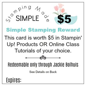 Free Products When You Shop With Jackie