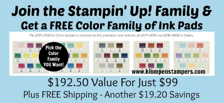 FREE Ink Pads?! Great Opportunity in July!
