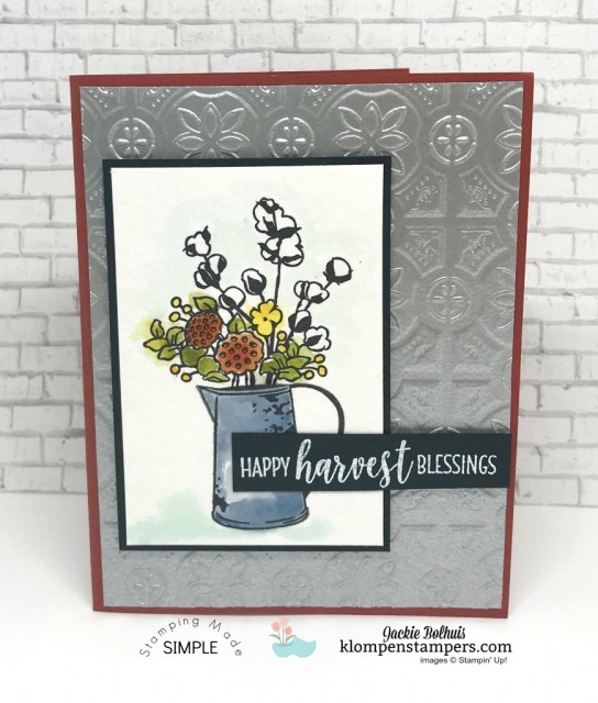 How to make a greeting card with texture by Jackie Bolhuis