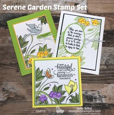 Coloring and Blending Tips Using Serene Garden