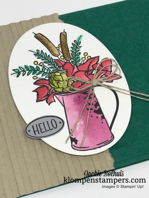 Handmade card designs ideas with Jackie Bolhuis, Klompen Stampers