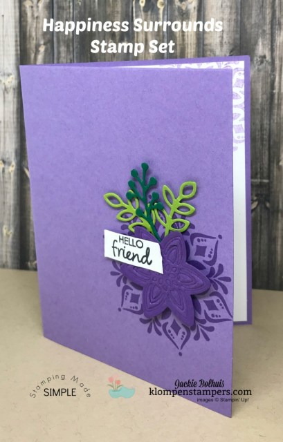 Emboss with dies? Yep! Learn how with this video tutorial by Jackie Bolhuis and while you're at it come browse the many cardmaking ideas and video tutorials. Look for Klompen Stampers on the web, YouTube, and Pinterest. Tons of ideas for your next greeting cards or scrapbook pages. #cardmaking #greetingcards #stampinup #cardmakingtips #jackiebolhuis #klompenstampers