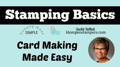 Cardmaking & Stamping Basics: Where to Start