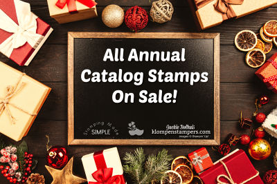 All Annual Catalog Stamps On Sale!