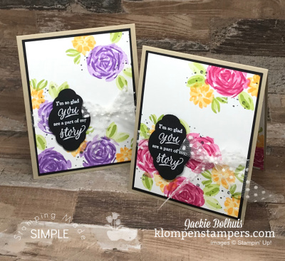 Blow Your Mind Easy and Beautiful Handmade Card