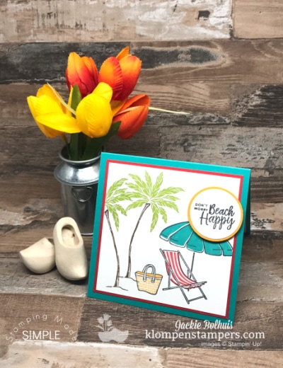Beach Happy! Guaranteed Smiles with this Greeting Card