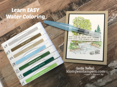 Learn How to Watercolor the Easy Way in a Peaceful Place