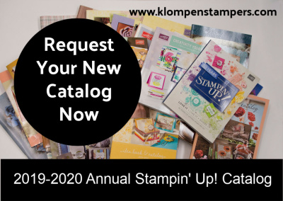 Reserve Your Copy of the 2019-2020 Stampin' Up! Catalog Now!