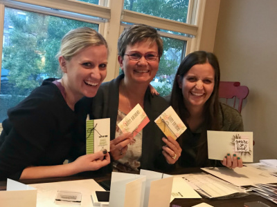 SIP Stamping with My Girls is the BEST!