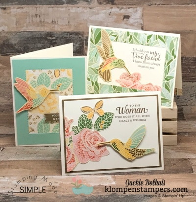 Fabulous NEW Designer Paper that Makes Easy Greeting Cards