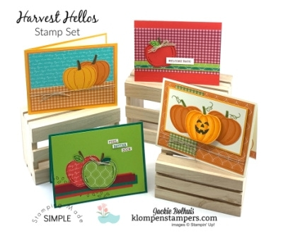Card Designs with One Paper Punch | 4 Cards