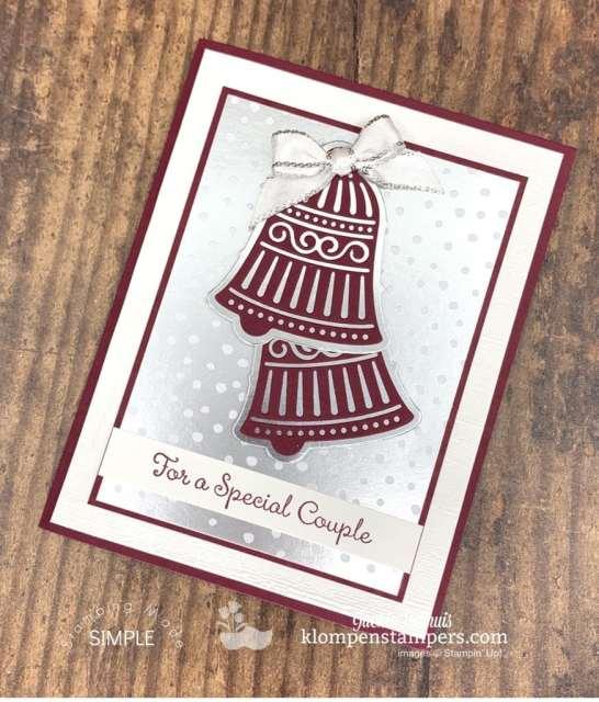 Beautiful-Handmade-Wedding-Cards-Wedding-Bells-in-Bridal-Party-Colors