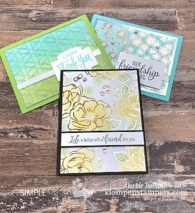 A WOW Look You've Got to See! 2 Sponging Techniques for Handmade Cards
