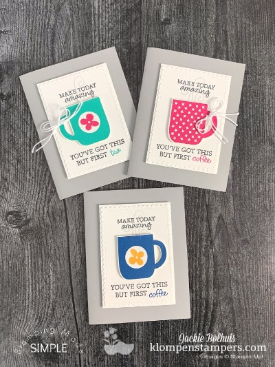 Double Delight Card Ideas for Coffee and Tea Lovers