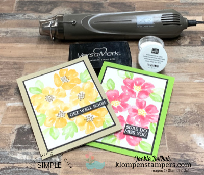 Stamp Platform for the Win! How to Get Perfect Stamped Cards