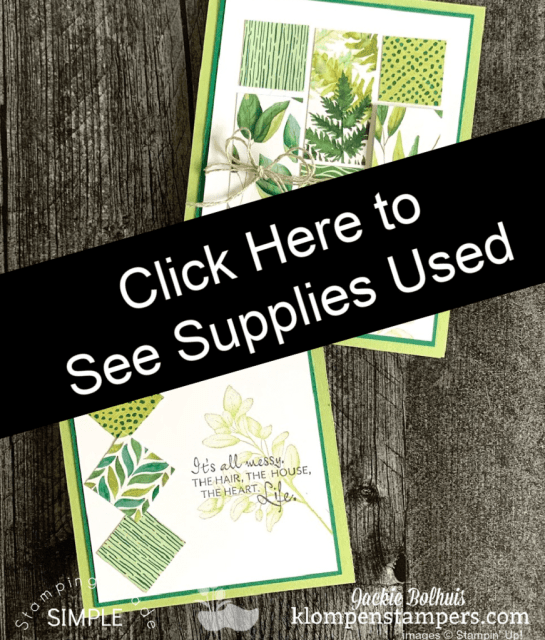 Click here to see the supplies used on these 2 winning card ideas.