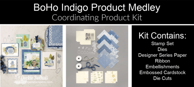 This BoHo Indigo product medley makes a beautiful gift for crafters!