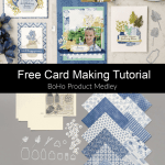 Free Tutorial with Boho Product Medley Stampin Up!