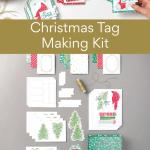 Christmas Tag Making Kit