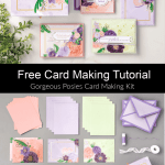 Free Tutorial with Gorgeous Posies Card Making Kit