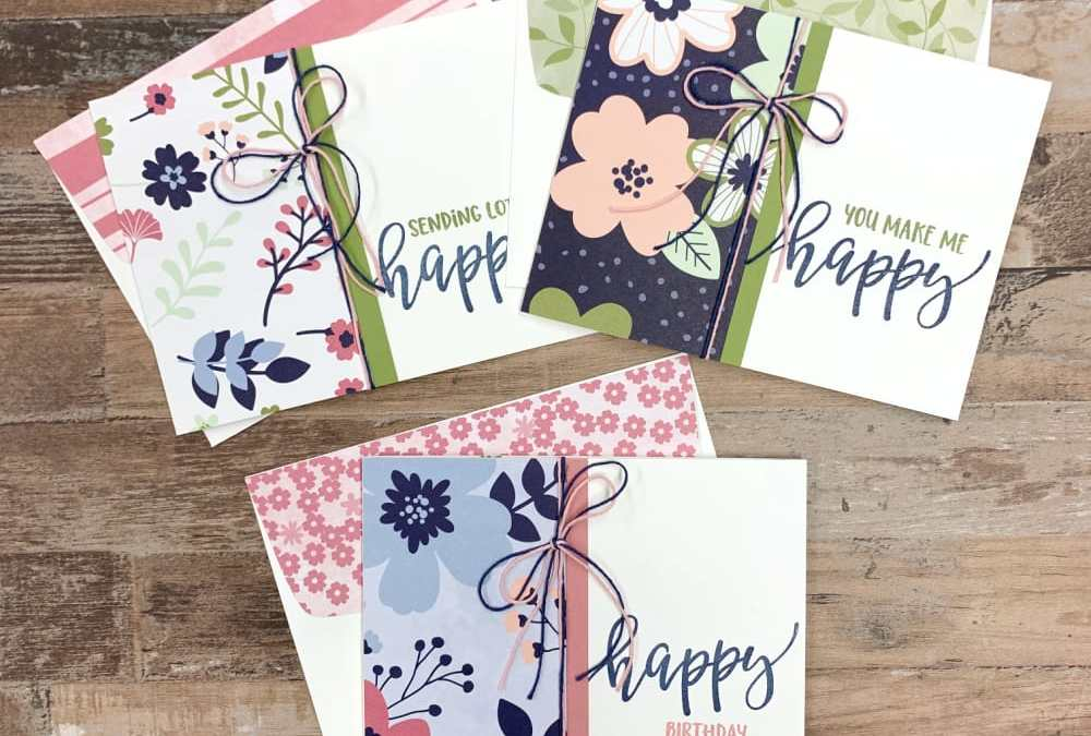 How to Get the Most Free Stampin' Up! Sale-a-Bration Items + Sneak Peek Cards