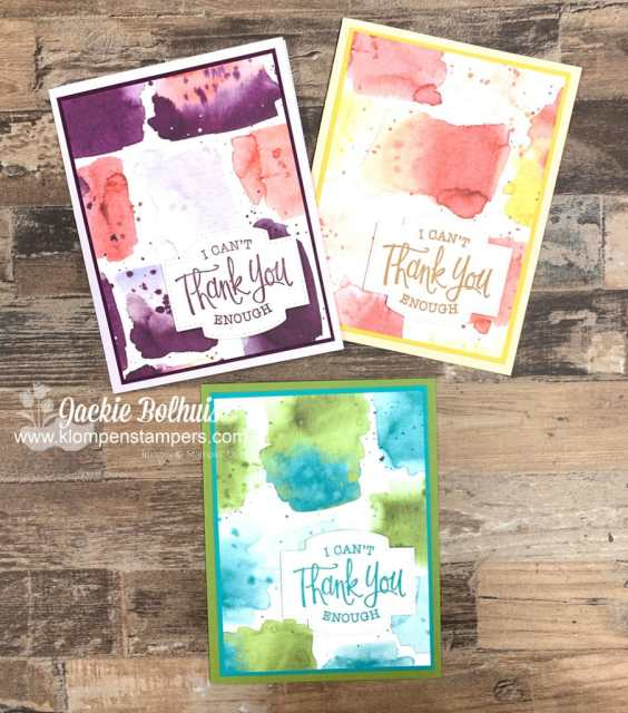 Use the back side of the scrapbook paper for even more (non-ice cream) design for your simple-to-make cards!